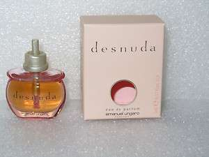Emanuel Ungaro Desnuda Eua de Parfum o.17 oz for woman Mini in Box