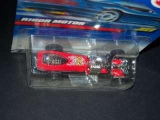 1999 HOT WHEELS RIGOR MOTOR COLLECTOR #1052 MINT ON CARD  