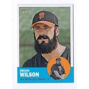 2012 Topps Heritage #325 Brian Wilson San Francisco Giants