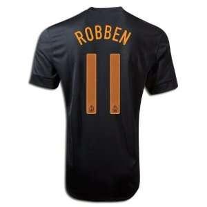 New Soccer Jersey Roben # 11 Holland Away Soccer Jersey Football Shirt