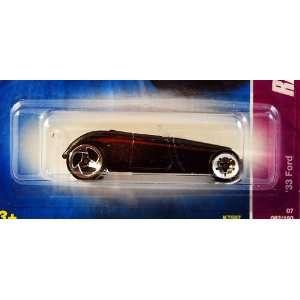 Hot Wheels 20007 Ragtops & Roadsters Black 33 Ford #2 or