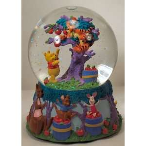 Disneys Winnie the Pooh and Tigger Musical Snow Globe