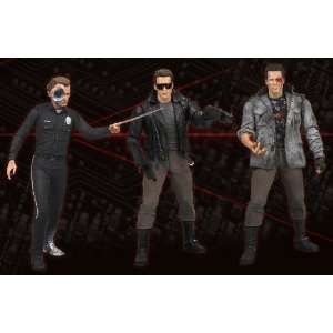 Terminator Collection Series 2 Set of 3 Action Figures Toys & Games