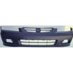 TKY HD04111BB DK5 Honda Accord Primed Black Replacement Front Bumper