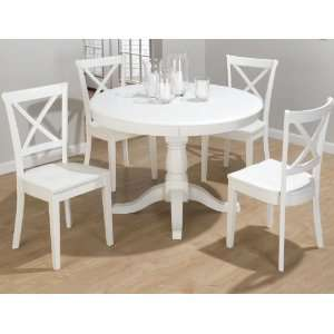Jofran Casper Round/Oval Dining Set: Home & Kitchen