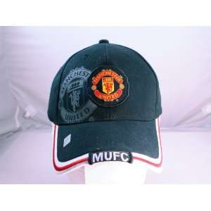 FC MANCHESTER UNITED OFFICIAL TEAM LOGO CAP / HAT   MU027