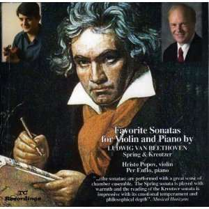Sonatas for Violin and Piano by Beethoven: Hristo Popov, violin