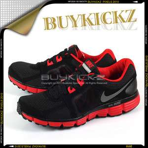 Fusion ST 2 Black/Metallic Dark Sport Red Running 2011 Mens 454242 004