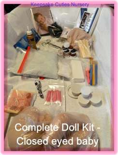 REBORN COMPLETE DOLL KIT, With DVD, Tools, Supplies, Reborn Chrisy