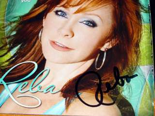 Reba McEntire Autographed Signed Keep On Loving You Guitar UACC RD COA