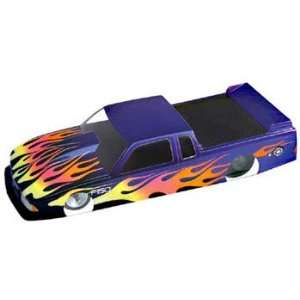 Drag Truck Clear Body, .015 Thick, 4 Inch (Slot Cars): Toys & Games
