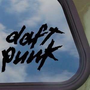 Daft Punk Black Decal Rock Band Car Truck Window Sticker