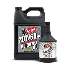 Red Line Oil 12604 Redline M/Cycle 20w60  Qt: Automotive