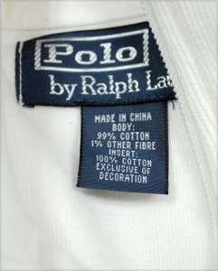 NWT Polo Ralph Lauren Mens Full Zip Sweater Track Jacket White