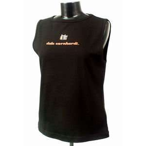 Dale Earnhardt Black Chase Authentic Ladies Tank Top