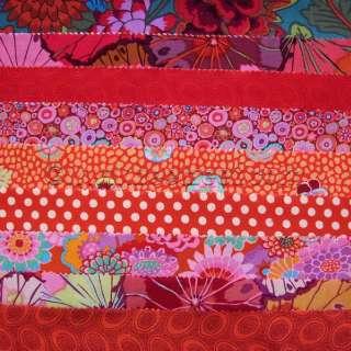 Kaffe Fassett JELLY ROLL Quilt Fabric Design All Colors