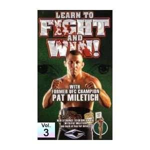 Pat Miletich DVD 3 Muay Thai Pad Combinations Sports