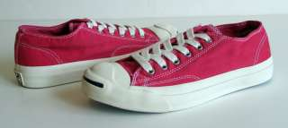 Converse Jack Purcell Garment Dye Pink Shoes Sneakers Classic Unisex