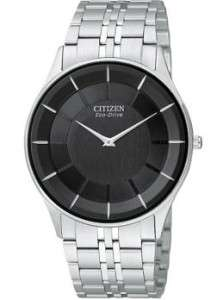 Mens Citizen Stiletto Eco Drive Thin Watch AR3010 57E