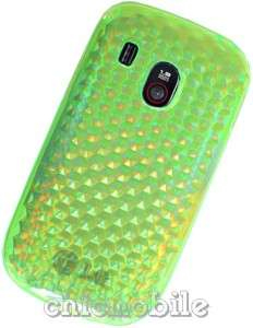LIME GREEN TPU Gel Skin Case Cover for NET 10 LG 500G