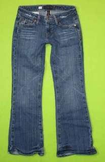 Aeropostale sz 00 Short x 27 Womens Blue Jeans Denim Pants Stretch