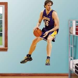 NBA Los Angeles Lakers Pau Gasol Vinyl Wall Graphic Decal