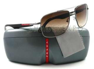 NEW Prada Sunglasses SPS 51M BROWN 5AV 6S1 SPS51M AUTH