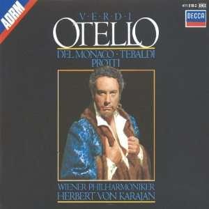 Verdi: Otello: Giuseppe Verdi, Herbert von Karajan, Aldo Protti