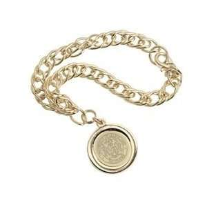 UMBC   Charm Bracelet   Gold