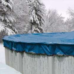 28 Round Super Glacier Swimming Pool Winter Cover 16 YR