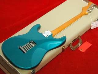 New USA Fender Eric Johnson Stratocaster, Lucerne Aqua Firemist Blue