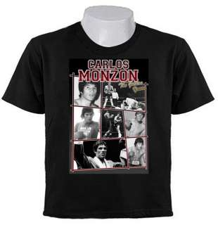 MONZON Boxing Champion GOLDEN YEARS T SHIRTS Argentina ESCOPETA