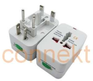 Universal Worldwide Travel AC Power Plug Adapter Socket