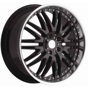 Sport 22x8.5 Black Wheel / Rim 5x115 with a 20mm Offset and a 74.10