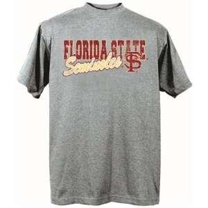 Florida State Seminoles FSU NCAA Dark Ash Short Sleeve T