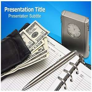 Expenditure PowerPoint Template   Backgrounds on PowerPoint Templates
