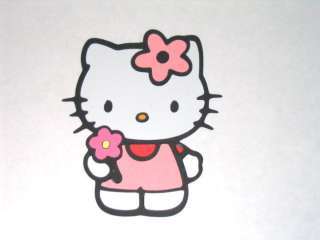 Hello Kitty Friendship with Flower Paper Piecing