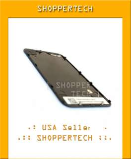REAR PANEL BLACK IPHONE 4G BACK COVER GLASS OEM FRAME