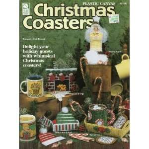 Plastic Canvas Christmas Coasters