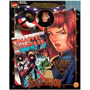 Marvel Comics Famous Covers  Black Widow Action Figure
