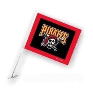 Pittsburgh Pirates Car/Truck Window Flag Sports