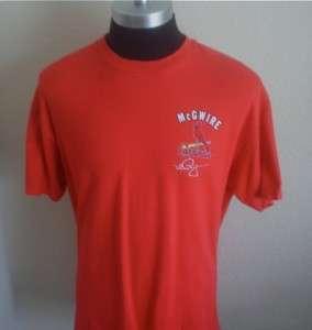 Vintage St. Louis Cardinals Mark McGwire #25 T shirt XL