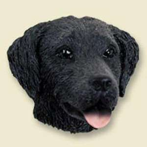 Flat Coated Retriever Dog Head Magnet (2 in) Kitchen