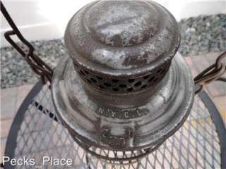 Railroad Lanterns Antique and Vintage 3 Total