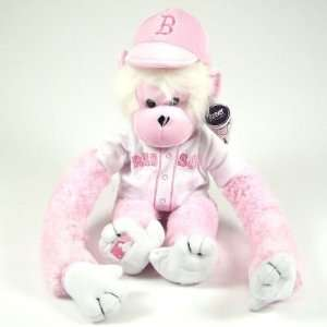 BOSTON RED SOX OFFICIAL PINK RALLY MONKEY PLUSH TOY