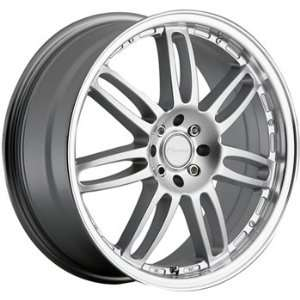Panther Adrenaline 17x7 Silver Wheel / Rim 4x100 & 4x4.25 with a 45mm