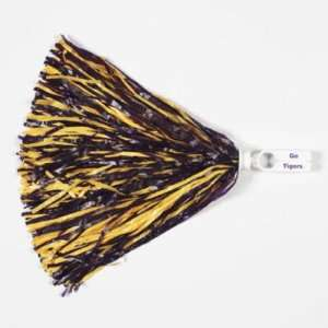 LSU TIGERS OFFICIAL LOGO POM PON