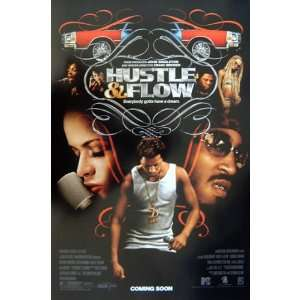 Hustle & Flow   Movie Poster   13 x 20
