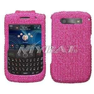 Sparkling Hot Pink Solid Color Premium Luxury Rhinestones