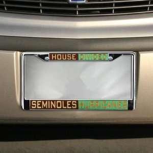 Florida State Seminoles (FSU)/Miami Hurricanes House